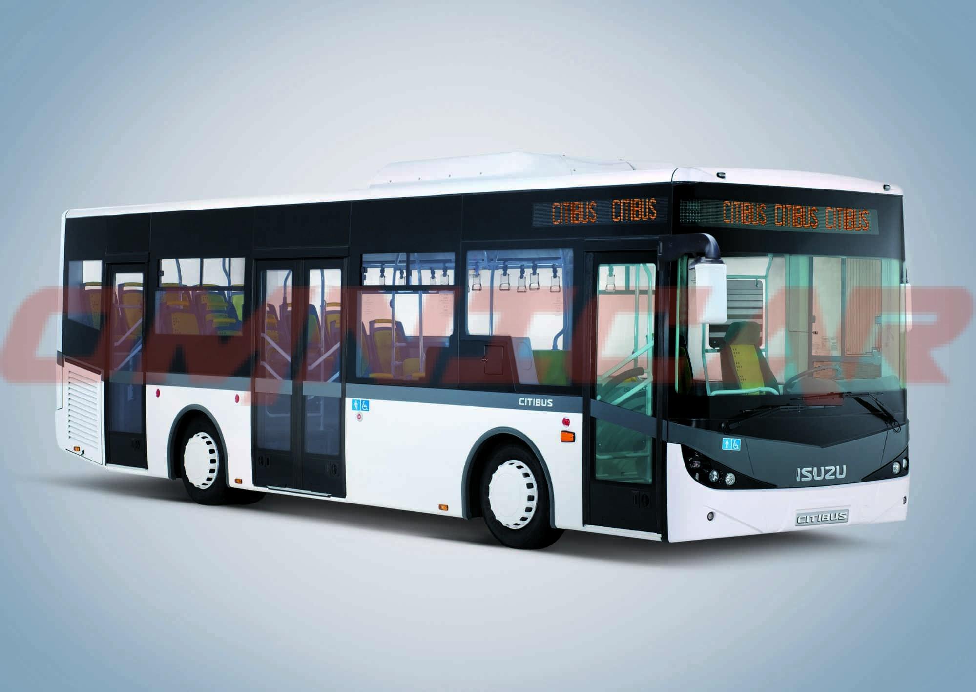 Isuzu City Bus 9.5M kurze Stadtbus Omnicar
