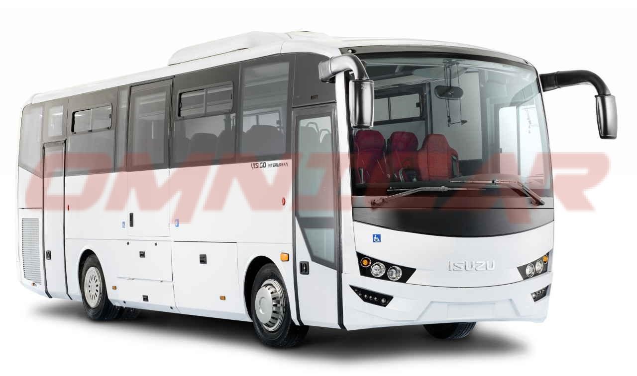 Isuzu Visigo Interurban - 39 Sitzplätze + 10 Stehplätze Omnicar Deutschland