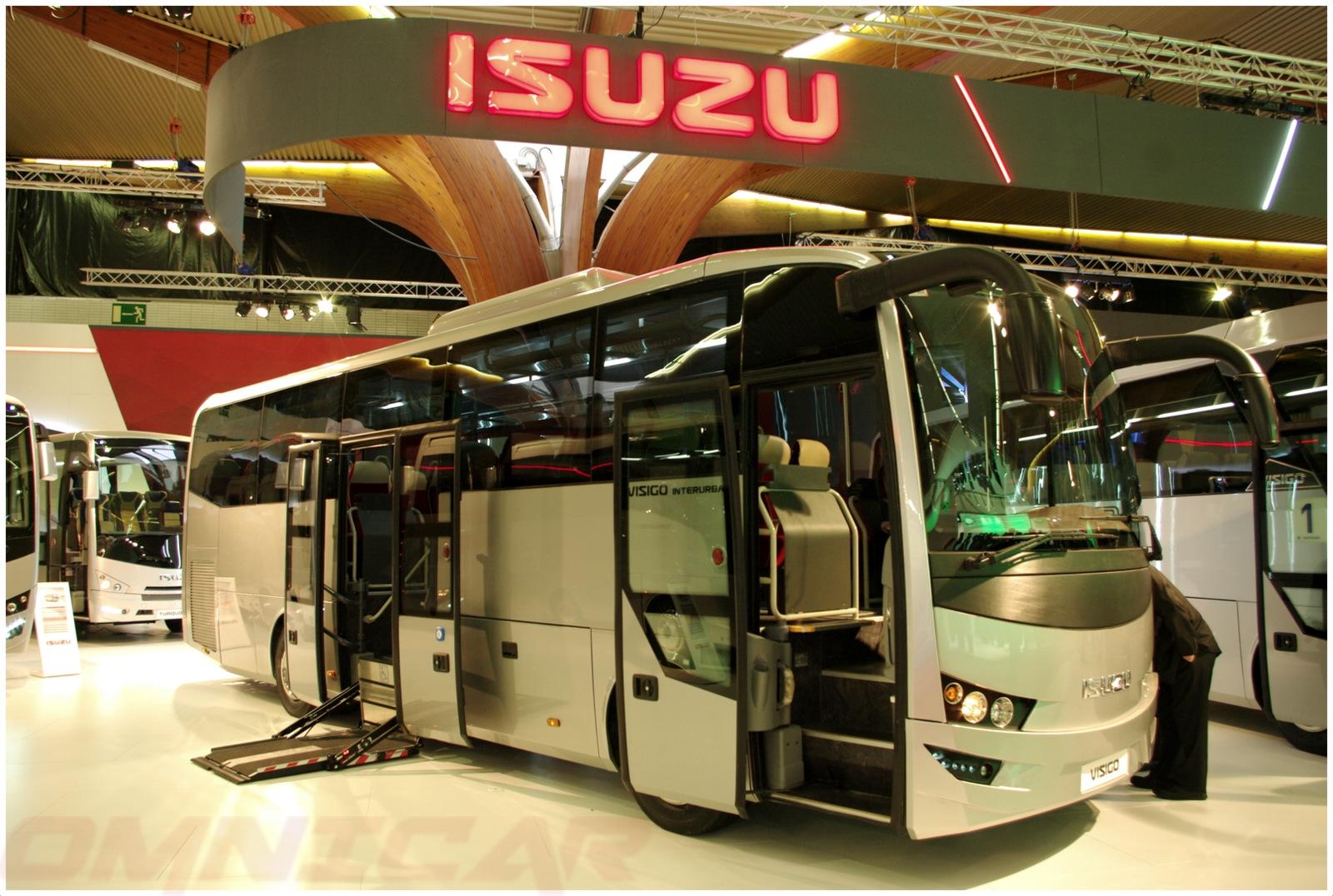 Isuzu Visigo Interurban - 39 Sitzplätze + 10 Stehplätze mittle double turen Omnicar Deutschland